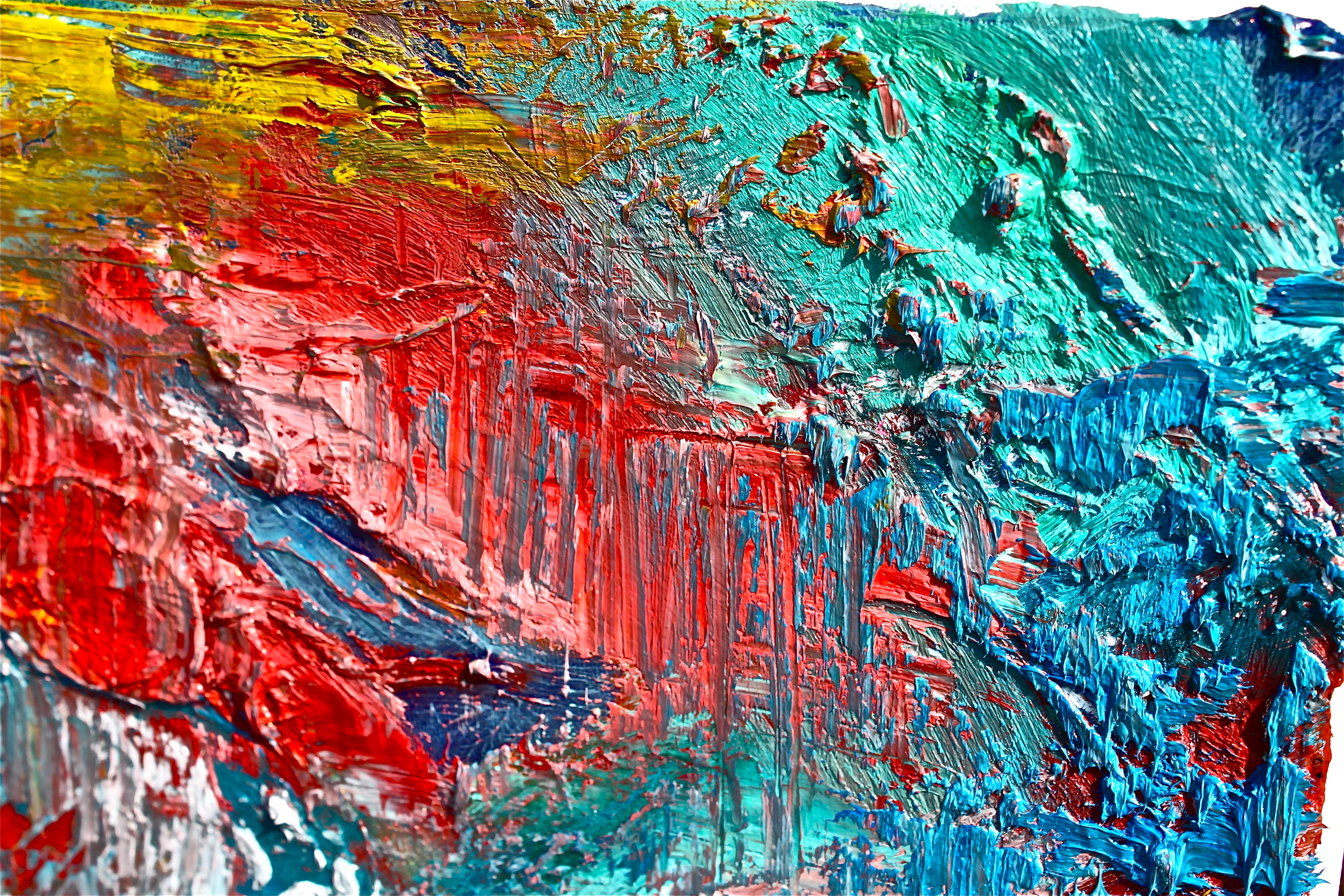 oil on canvas - photo #8